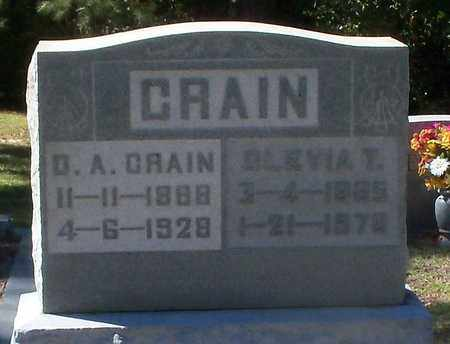 CRAIN, OLEVIA - Washington County, Louisiana | OLEVIA CRAIN - Louisiana Gravestone Photos
