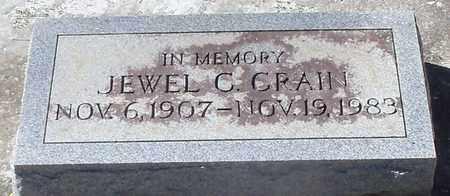 CRAIN, JEWEL C - Washington County, Louisiana | JEWEL C CRAIN - Louisiana Gravestone Photos