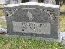 PARNELL CRAIN, SUE - Washington County, Louisiana | SUE PARNELL CRAIN - Louisiana Gravestone Photos