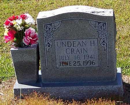 CRAIN, UNDEAN H - Washington County, Louisiana | UNDEAN H CRAIN - Louisiana Gravestone Photos