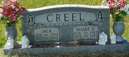 CREEL, MAMIE D - Washington County, Louisiana | MAMIE D CREEL - Louisiana Gravestone Photos