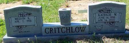 WILLIAMS CRITCHLOW, KATRICIE W - Washington County, Louisiana | KATRICIE W WILLIAMS CRITCHLOW - Louisiana Gravestone Photos