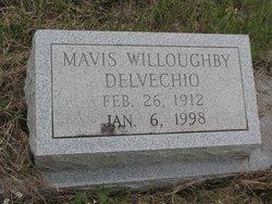 WILLOUGHBY DELVECHIO, MAVIS - Washington County, Louisiana | MAVIS WILLOUGHBY DELVECHIO - Louisiana Gravestone Photos