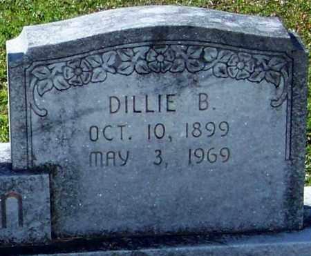 DILLON  , DILLE B  (CLOSEUP) - Washington County, Louisiana   DILLE B  (CLOSEUP) DILLON   - Louisiana Gravestone Photos