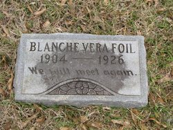 FOIL, BLANCHE VERA - Washington County, Louisiana | BLANCHE VERA FOIL - Louisiana Gravestone Photos