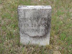 FOIL, JOHN RANDOLPH - Washington County, Louisiana | JOHN RANDOLPH FOIL - Louisiana Gravestone Photos