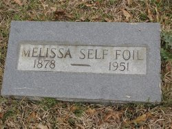 FOIL, MELISSA - Washington County, Louisiana | MELISSA FOIL - Louisiana Gravestone Photos