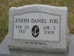 FOIL, JOSEPH DANIEL VETERAN WWII) - Washington County, Louisiana | JOSEPH DANIEL VETERAN WWII) FOIL - Louisiana Gravestone Photos