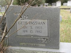 PASSMAN FOIL, OZZIE - Washington County, Louisiana | OZZIE PASSMAN FOIL - Louisiana Gravestone Photos