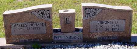 FORTINBERRY, VIRGINIA D - Washington County, Louisiana   VIRGINIA D FORTINBERRY - Louisiana Gravestone Photos