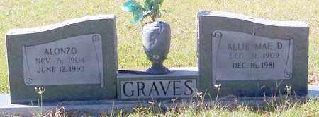 GRAVES, ALLIE MAE D - Washington County, Louisiana   ALLIE MAE D GRAVES - Louisiana Gravestone Photos