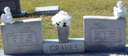 ROWELL GRAVES, MAUDINE - Washington County, Louisiana | MAUDINE ROWELL GRAVES - Louisiana Gravestone Photos