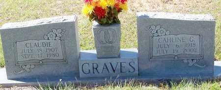 GRAVES, CAHLINE G - Washington County, Louisiana   CAHLINE G GRAVES - Louisiana Gravestone Photos