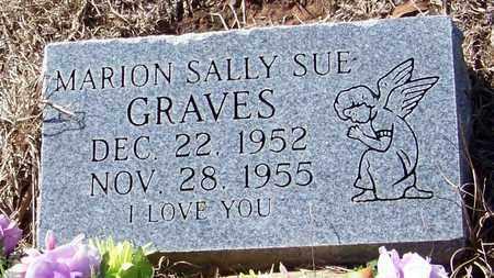 GRAVES, MARION SALLY SUE - Washington County, Louisiana   MARION SALLY SUE GRAVES - Louisiana Gravestone Photos
