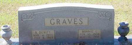 GRAVES, MINNIE L - Washington County, Louisiana   MINNIE L GRAVES - Louisiana Gravestone Photos
