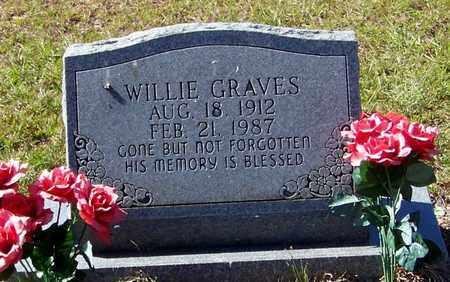 GRAVES, WILLIE - Washington County, Louisiana | WILLIE GRAVES - Louisiana Gravestone Photos