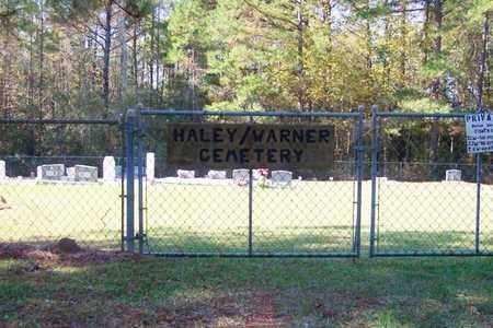 * HALEY-WARNER CEMETERY SIGN,   - Washington County, Louisiana |   * HALEY-WARNER CEMETERY SIGN - Louisiana Gravestone Photos