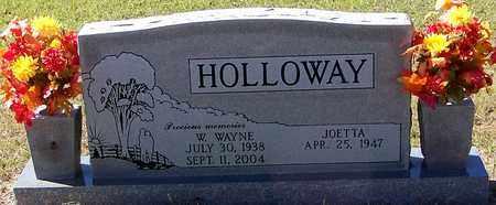 HOLLOWAY, WILMER WAYNE - Washington County, Louisiana | WILMER WAYNE HOLLOWAY - Louisiana Gravestone Photos