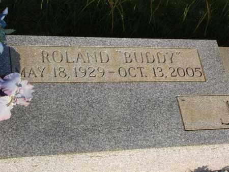 "JENKINS  , ROLAND ""BUDDY""  (CLOSEUP) - Washington County, Louisiana   ROLAND ""BUDDY""  (CLOSEUP) JENKINS   - Louisiana Gravestone Photos"