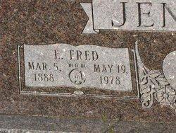 "JENKINS, EMILE FREDERICK ""FRED"" (CLOSEUP) - Washington County, Louisiana   EMILE FREDERICK ""FRED"" (CLOSEUP) JENKINS - Louisiana Gravestone Photos"