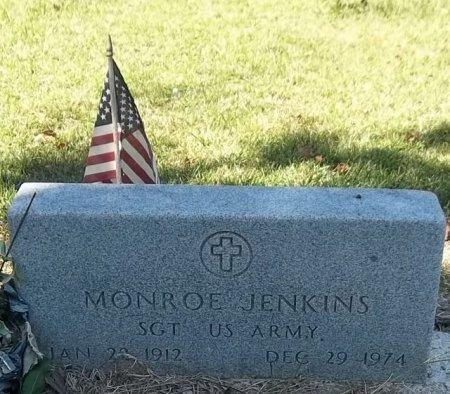 JENKINS, MONROE (VETERAN) - Washington County, Louisiana | MONROE (VETERAN) JENKINS - Louisiana Gravestone Photos