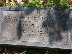 JORDAN, BERNICE E - Washington County, Louisiana | BERNICE E JORDAN - Louisiana Gravestone Photos