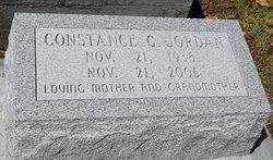 JORDAN, CONSTANCE G - Washington County, Louisiana | CONSTANCE G JORDAN - Louisiana Gravestone Photos