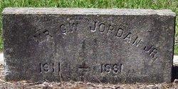 JORDAN, G W, JR - Washington County, Louisiana | G W, JR JORDAN - Louisiana Gravestone Photos
