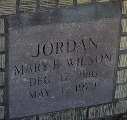 JORDAN, MARY B - Washington County, Louisiana | MARY B JORDAN - Louisiana Gravestone Photos