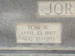 "JORDAN, THOMAS WARREN ""TOM"" (CLOSEUP) - Washington County, Louisiana 