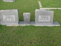 JORDAN, BEULAH - Washington County, Louisiana | BEULAH JORDAN - Louisiana Gravestone Photos