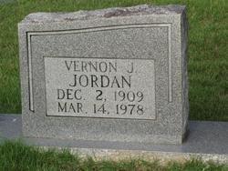 JORDAN, VERNON J (CLOSEUP) - Washington County, Louisiana | VERNON J (CLOSEUP) JORDAN - Louisiana Gravestone Photos