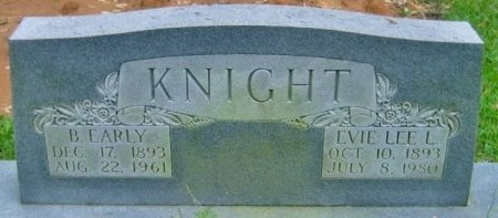 KNIGHT, EVIE LEE - Washington County, Louisiana | EVIE LEE KNIGHT - Louisiana Gravestone Photos