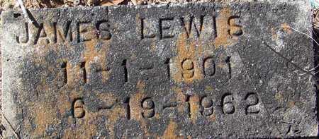 LEWIS  , JAMES  (2ND MARKER) - Washington County, Louisiana | JAMES  (2ND MARKER) LEWIS   - Louisiana Gravestone Photos