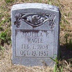 MAGEE, ARDELLA P - Washington County, Louisiana | ARDELLA P MAGEE - Louisiana Gravestone Photos