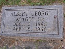 MAGEE, ALBERT GEORGE, SR - Washington County, Louisiana | ALBERT GEORGE, SR MAGEE - Louisiana Gravestone Photos