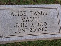 MAGEE, ALICE - Washington County, Louisiana | ALICE MAGEE - Louisiana Gravestone Photos