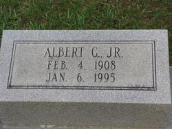 MAGEE, ALBERT GEORGE, JR (CLOSEUP) - Washington County, Louisiana | ALBERT GEORGE, JR (CLOSEUP) MAGEE - Louisiana Gravestone Photos