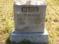 MAGEE, ALLIE M - Washington County, Louisiana | ALLIE M MAGEE - Louisiana Gravestone Photos
