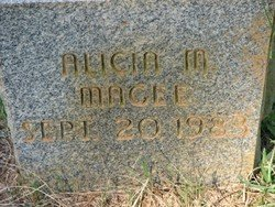 MAGEE, ALICIA MARIE - Washington County, Louisiana | ALICIA MARIE MAGEE - Louisiana Gravestone Photos