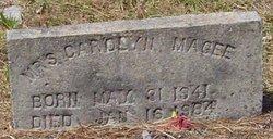 MAGEE, CAROLYN - Washington County, Louisiana | CAROLYN MAGEE - Louisiana Gravestone Photos