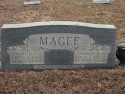 "MAGEE, CHARLES H T ""CHARLIE"" - Washington County, Louisiana 
