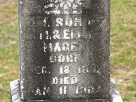 MAGEE , J T (CLOSE UP) - Washington County, Louisiana   J T (CLOSE UP) MAGEE  - Louisiana Gravestone Photos
