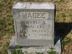 MAGEE, DAVID E - Washington County, Louisiana | DAVID E MAGEE - Louisiana Gravestone Photos