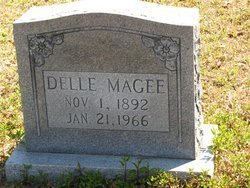 MAGEE, DELLE - Washington County, Louisiana | DELLE MAGEE - Louisiana Gravestone Photos