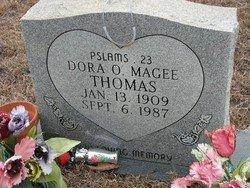 MAGEE, DORA SPEARS - Washington County, Louisiana | DORA SPEARS MAGEE - Louisiana Gravestone Photos