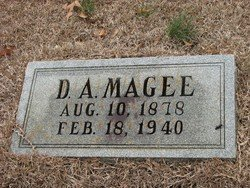 "MAGEE, DANIEL A ""DAN"" - Washington County, Louisiana 