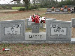 MAGEE, D S - Washington County, Louisiana | D S MAGEE - Louisiana Gravestone Photos