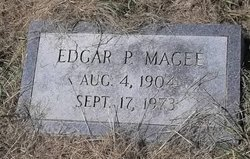 MAGEE, EDGAR P - Washington County, Louisiana | EDGAR P MAGEE - Louisiana Gravestone Photos