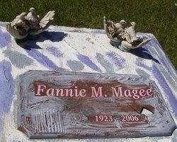 MAGEE, FANNIE M - Washington County, Louisiana | FANNIE M MAGEE - Louisiana Gravestone Photos